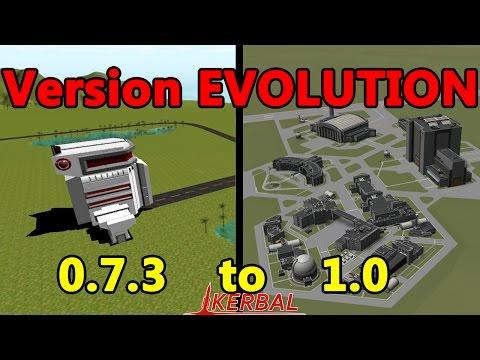 KSP Version EVOLUTION [v.0.7.3 to v.1.0]