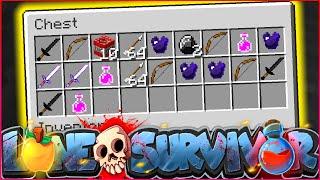 """Minecraft LONE SURVIVOR - """"INSANE SURPRISE LOOT DROP"""" - Episode 2"""