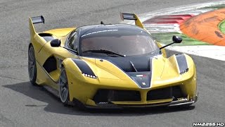 Ferrari Corse Clienti @ Monza! - FXX-K, 599XX, F1 SCREAMING Sounds @ Track!