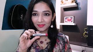 Unboxing, Swatches & Reviews video of The One Colour Obsession lipsticks of Oriflame