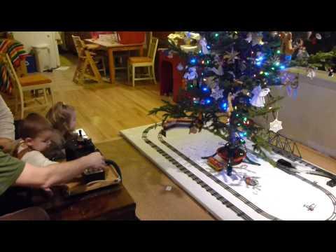 Laughlin Christmas Tree Train Layout 2012
