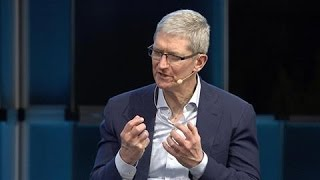 Tim Cook Defends Apple's Encryption Policy