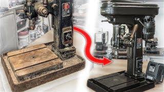 ROSA Drill Press Restoration   The Best Italian Made Sensitive Drill Press!