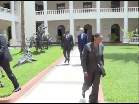 US Secretary of State Department John Kerry at State House, Nairobi