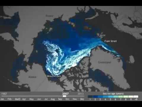 TimeLapse: Watch 27 Years of 'Old' Arctic Ice Melt Away in Seconds