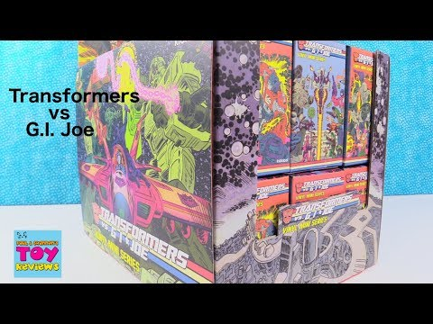 Transformers vs GI Joe Kidrobot Vinyl Mini Figure Series Unboxing | PSToyReviews