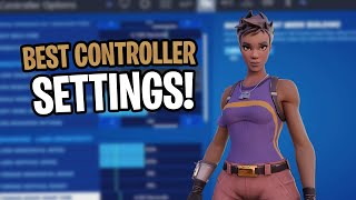 These Are The *BEST* Updated Controller Fortnite Settings/Sensitivity! (Xbox/PS4)