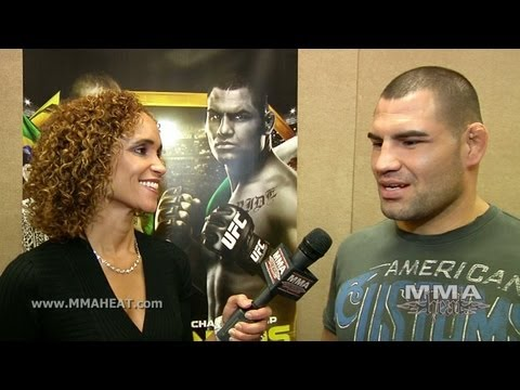 UFC 155: Cain Velasquez on Fighting Lighter + Faster In JDS Rematch, Facing Keyboard Warriors