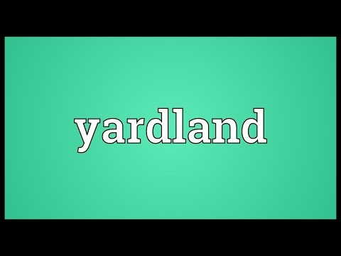 Header of yardland