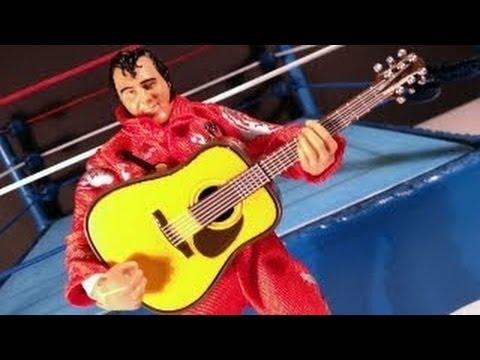 WWE Elite 21 Honky Tonk Man Action Figure Review