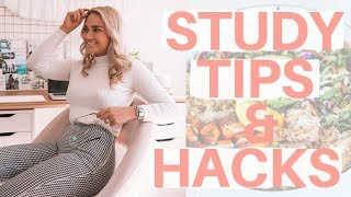 Day In My Life II My best STUDY tips & hacks (Law degree & Health Coach Course)