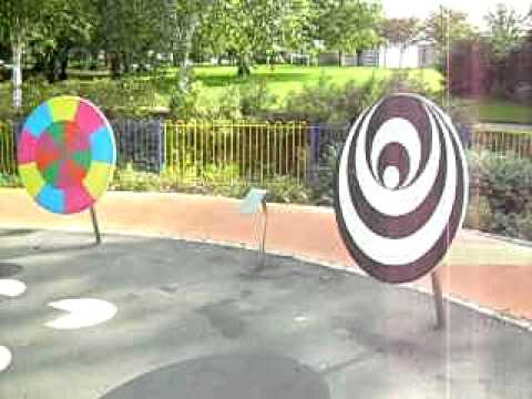 Rotating Optical Illusions - Educational Play Equipment