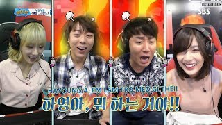 [VIETSUB] Oh Hayoung chơi PUBG =)) (P.2) 170915 Yoo Hee Nak Rak EP.36 Apink Hayoung Cut