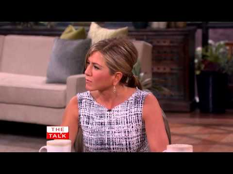 The Talk Jennifer Aniston on 'We're The Millers' Stripper Workout 7 August, 2013