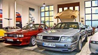 The Audi quattro Story - part 1 - Milestones