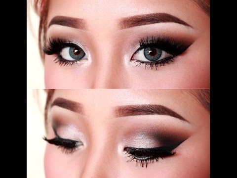 Sultry Silver Cutcrease Eye Makeup Tutorial