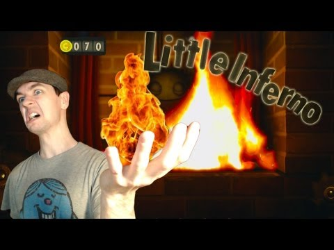 Little Inferno Part 5   THINGS ARE GETTING WEIRD   Amazing Indie Game Gameplay/Commentary