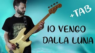 Io vengo dalla luna - Maneskin Version - Bass tutorial - Drum only track