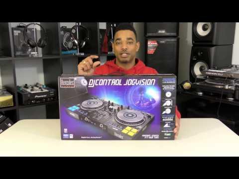 Hercules DJ Control Jogvision Unboxing Video