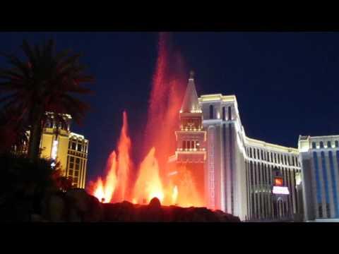 The Mirage Volcano in Las Vegas (2011)
