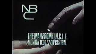 NBC The Man from U.N.C.L.E. promo 1960s
