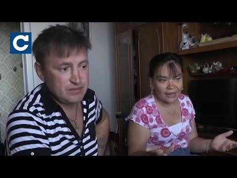 Мать издевается над дочерью-инвалидом