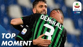 Berardi scores late against Lazio! | Lazio 2-2 Sassuolo | Top Moment | Serie A