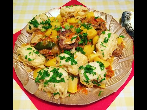 Штрудель с мясом,картошкой и кислой капустой.ВКУСНО!!!