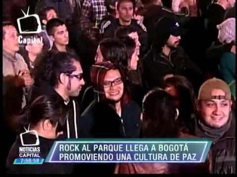 Rock al Parque llega a Bogotá promoviendo una cultura de paz