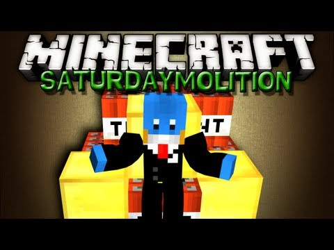 Minecraft SaturDaymolition - EJM BUTTER BLOWN UP - 6