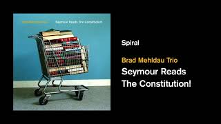 "Brad Mehldau Trio - 新譜「Seymour Reads the Constitution!」2018年5月18日発売予定 ""Spiral""の試聴音源を公開 thm Music info Clip"