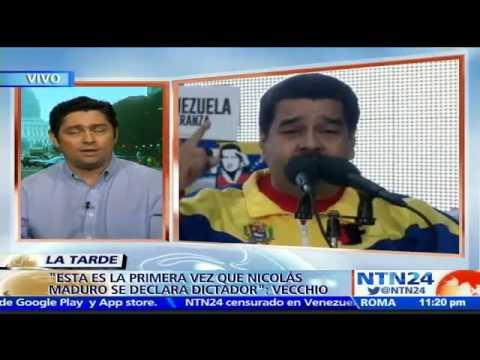 """""""Nicolás Maduro está subestimando al pueblo"""": Carlos Vecchio a NTN24"""