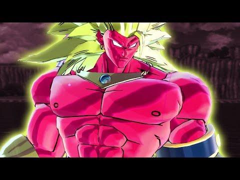 SSJ3 BROLY JANEMBA FUSION - Dragon Ball Xenoverse 2 Mods   Pungence