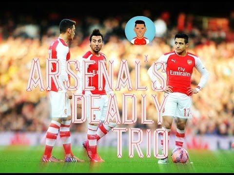 Alexis Sánchez, Mesut Ozil & Santi Cazorla | Arsenal's Deadly Trio | Ballin' [Part 1]