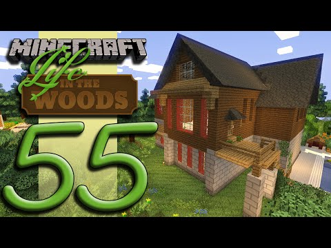 Minecraft Life In The Woods - EP55 - Home Improvement klip izle