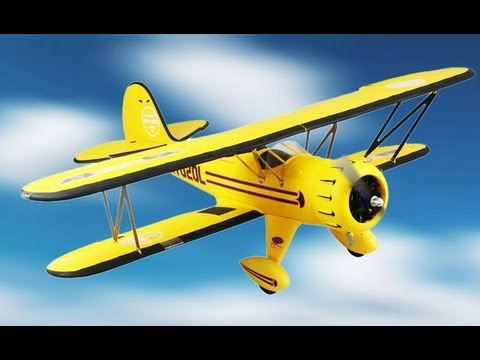 New Dynam WAKO Biplane Preview
