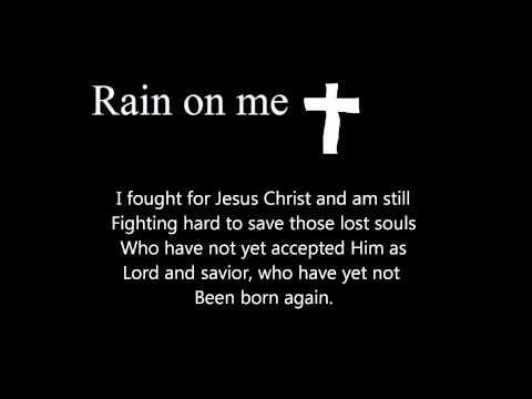 Rain On Me (a Free Verse Spiritual Poem) video