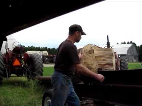 Using the Monster Wood Splitter