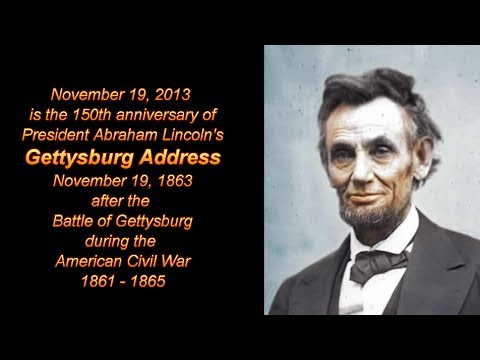 lincoln s gettysburg address analysis Gettysburg address rhetorical analysis the 16th president of the united states of america, abraham lincoln, in his speech, the gettysburg address, recounts the tragedy of the civil war and the fight for the removal of slavery lincoln's purpose is to state the importance of winning the war along with the importance of liberty, freedom, and equality.