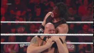 WWE Raw-5/14/2012 kane vs big show HD