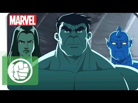 Hulk und das Team S.M.A.S.H. - Bombenalarm  | Marvel HQ Deutschland