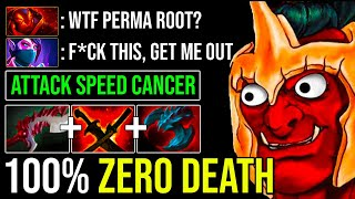 UNBELIEVABLE Attack Speed Troll Warlord Solo Diving With No Fear Still Nobody Can Finish Him Dota 2