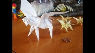 Instructions Origami Mini Winged Horse