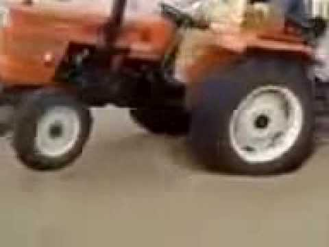 Amazing Spinning Tractor Stunt You Cant Believe. Subscribe Me. video