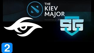 Secret vs SG Game 2  Kiev Major Highlights Dota 2