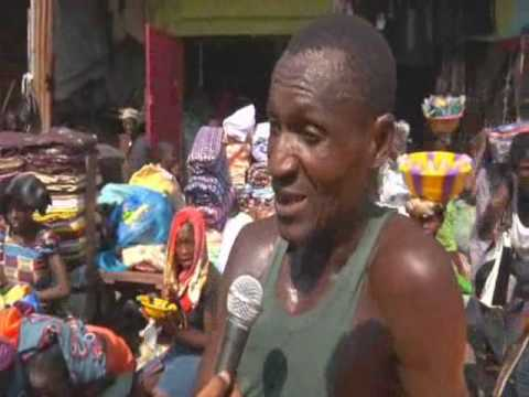 Vickie Remoe Show - Street Market Freetown