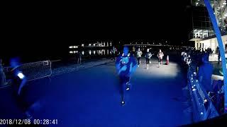 2018 Sarasota Christmas Glow Run 5k Finish Video