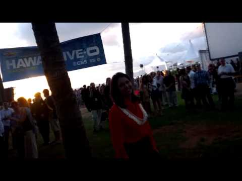 HAWAII TULSI GABBARD AT THE HAWAII FIVE-O PREMIER