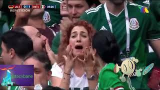 Alemania vs México El Golazo del chucky Lozano/ Mundial Rusia TV AZTECA DEPORTES