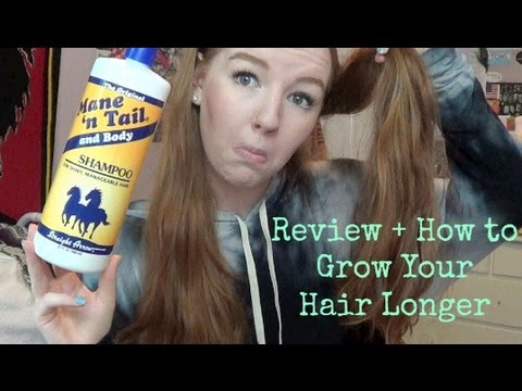 Review: Mane 'n Tail Shampoo + How to Grow Your Hair Longer | MEGHAN HUGHES